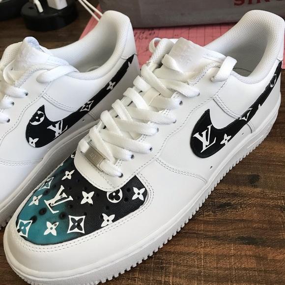 Men (size 11) Custom Nike Air Forces